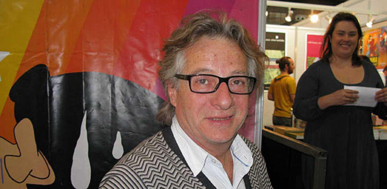 Javier Mariscal en el Salón del Cómic de Barcelona