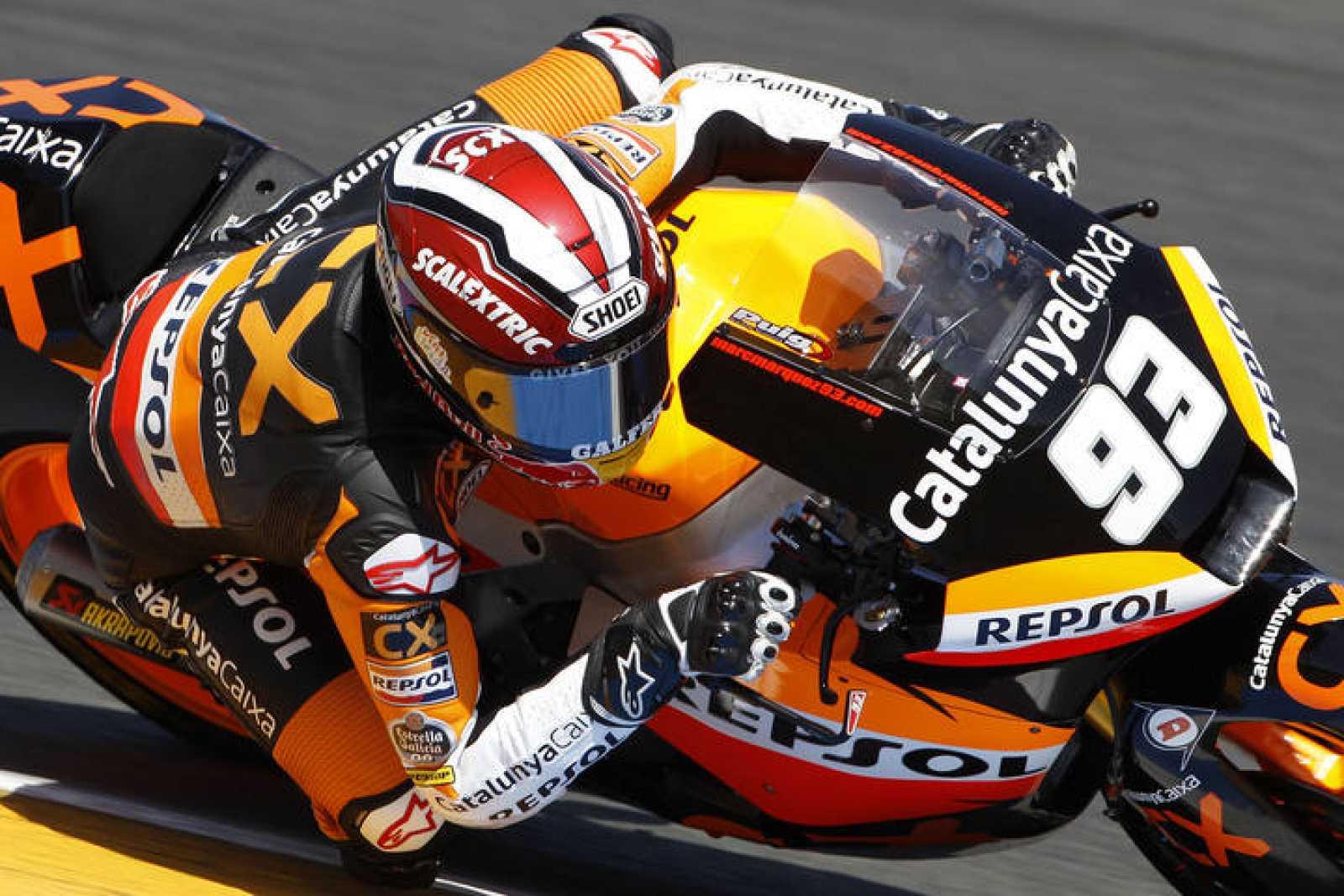Márquez logró su primera victoria en Moto2.