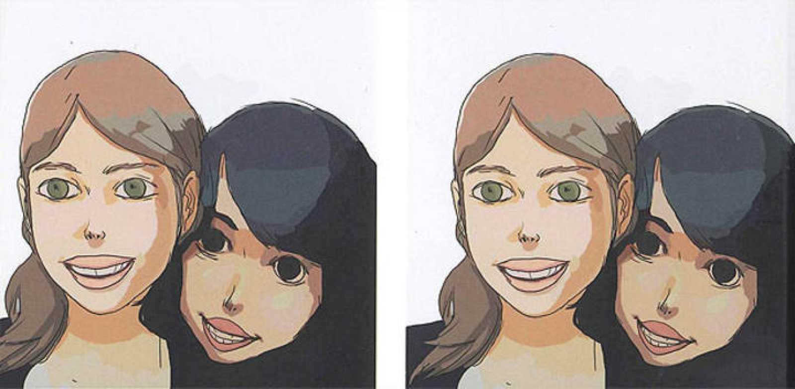 Viñetas de 'Ellas. Alice,Charlotte & Renaud', de Bastien Vivès