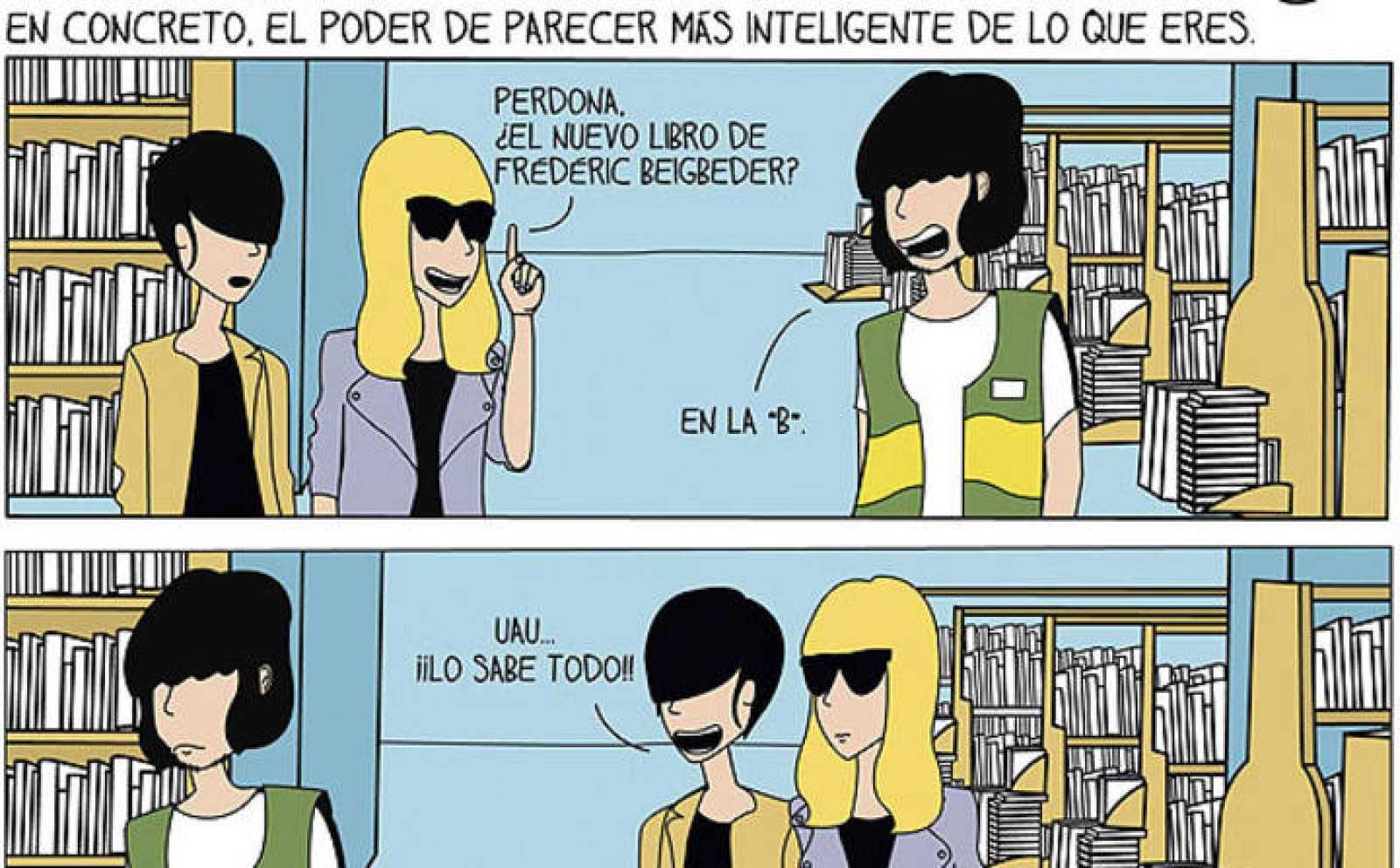 Viñetas de 'Soy de pueblo', de Raquel Córcoles y Marta Rabadán