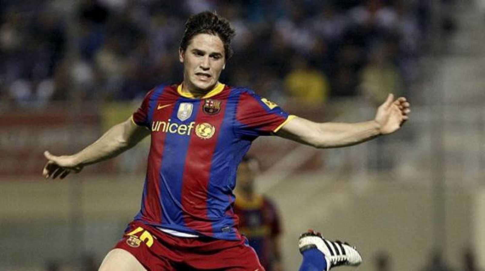 Andreu Fontàs ha renovado con el Barcelona y ha entrado a formar parte de la primera plantilla.