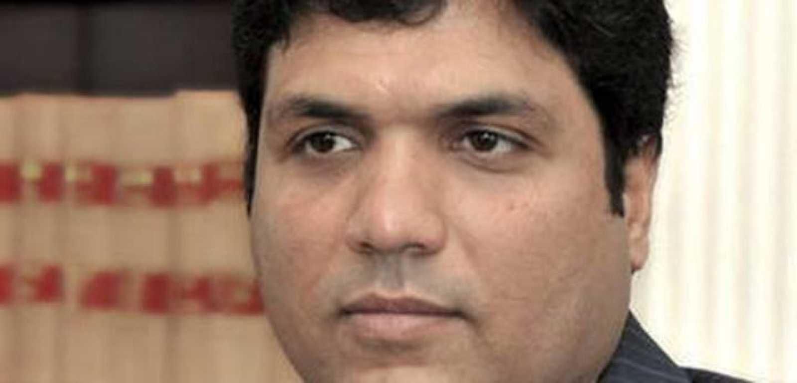 Ashan Alí Syed, presidente del Racing en una imagen de archivo.