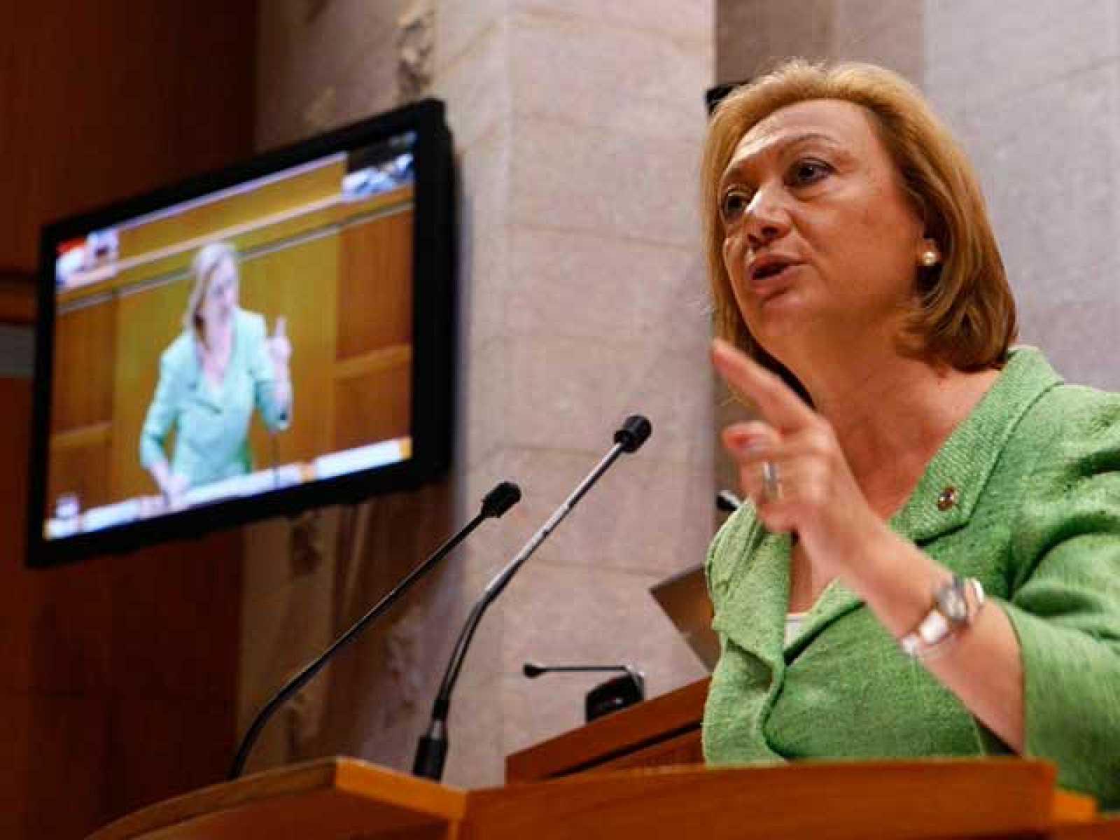 Rudi se proclama presidenta de Aragón