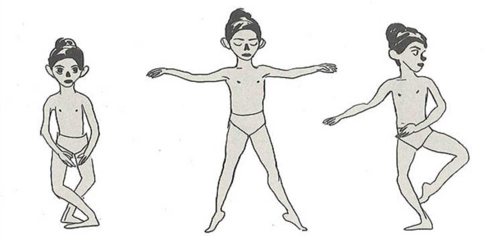 Viñeta de 'Polina', de Bastién Vivès