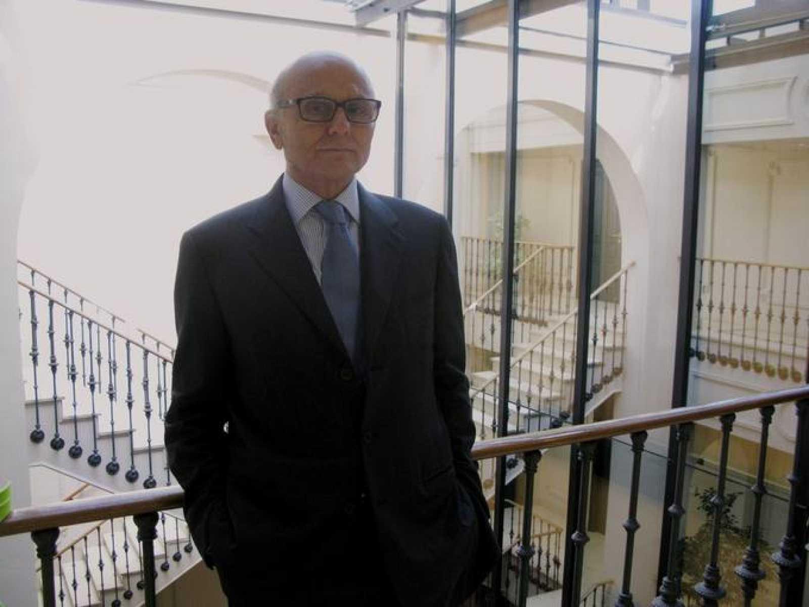 Josep Maria Caralps, antes de su entrevista con RTVE.es