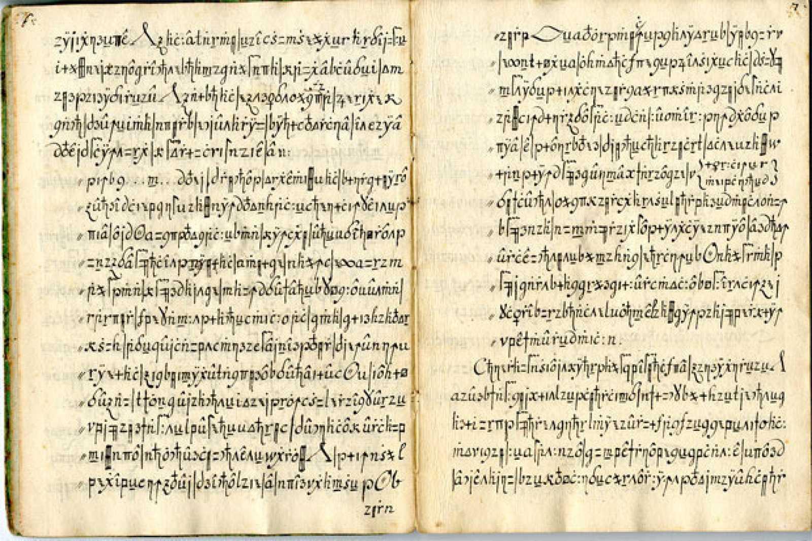 El código Copiale, ha sido un misterio para la criptología durante cientos de años.