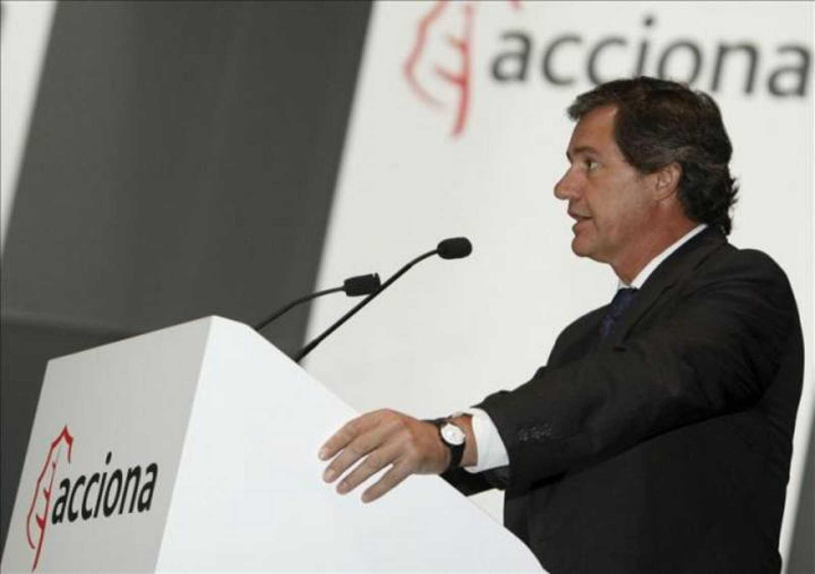 Presidente de Acciona, José Manuel Entrecanales