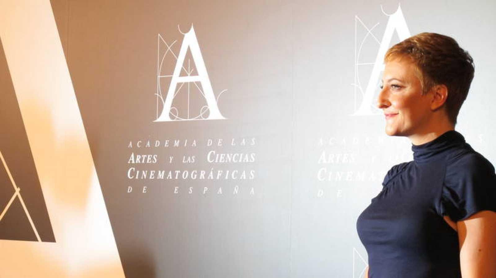 Eva Hache durante la presentación este miércoles de la gala de los Premios Goya 2012