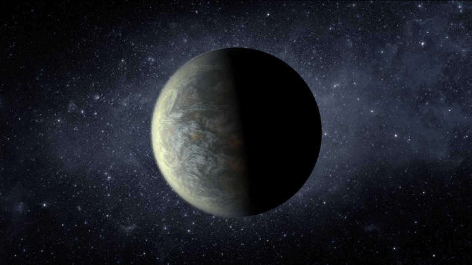 Reconstrucción artística de Kepler-20f