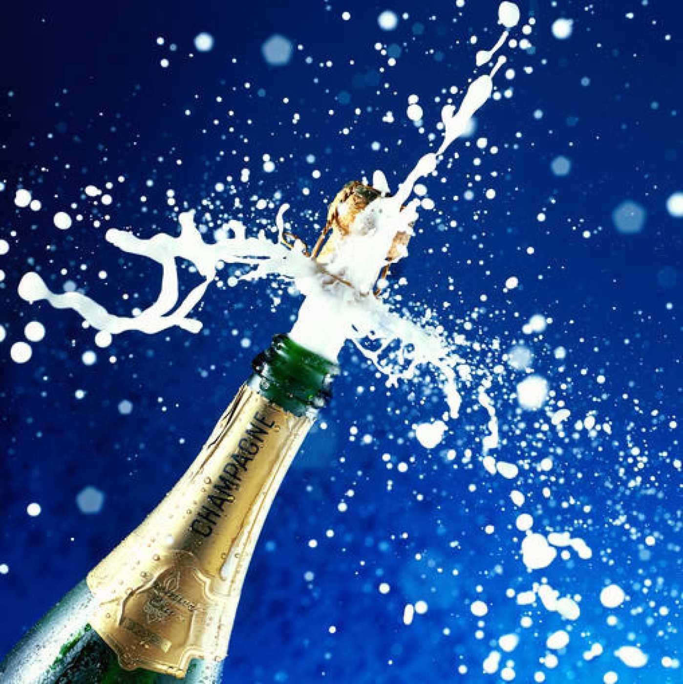 Al abrir una botella de vino espumoso se libera toda la presión que albergan en su interior