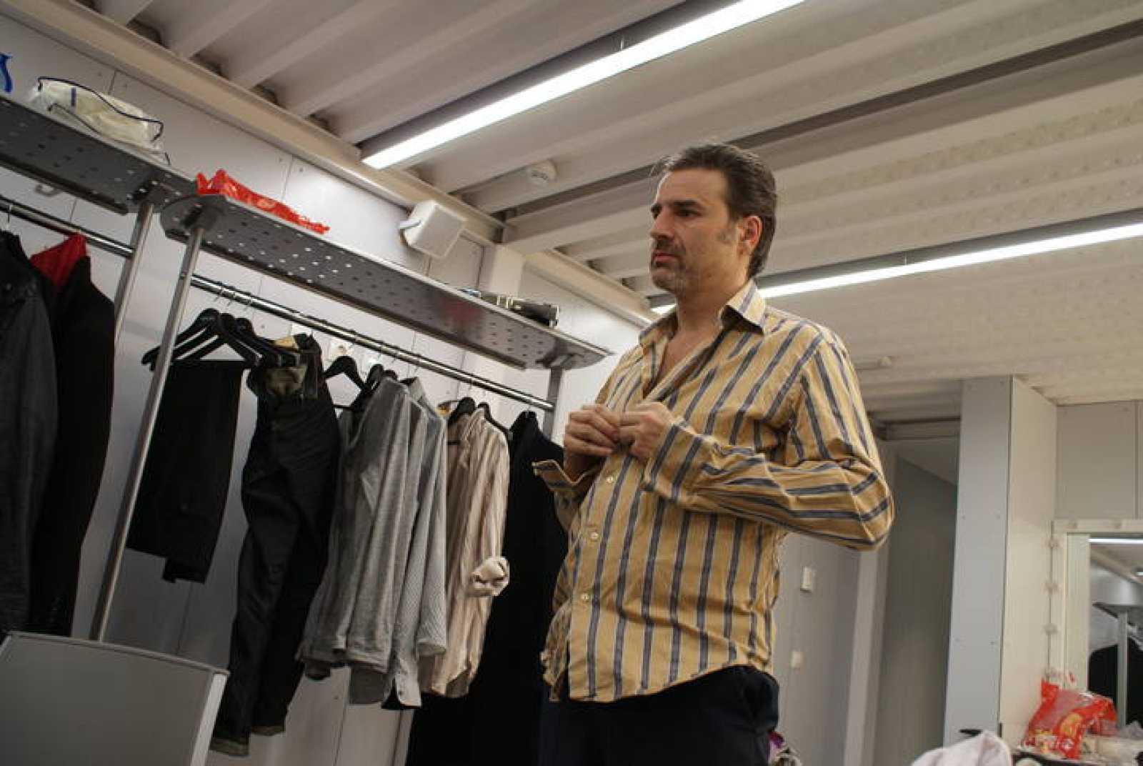 Alberto San Juan, durante la entrevista con RTVE.es.