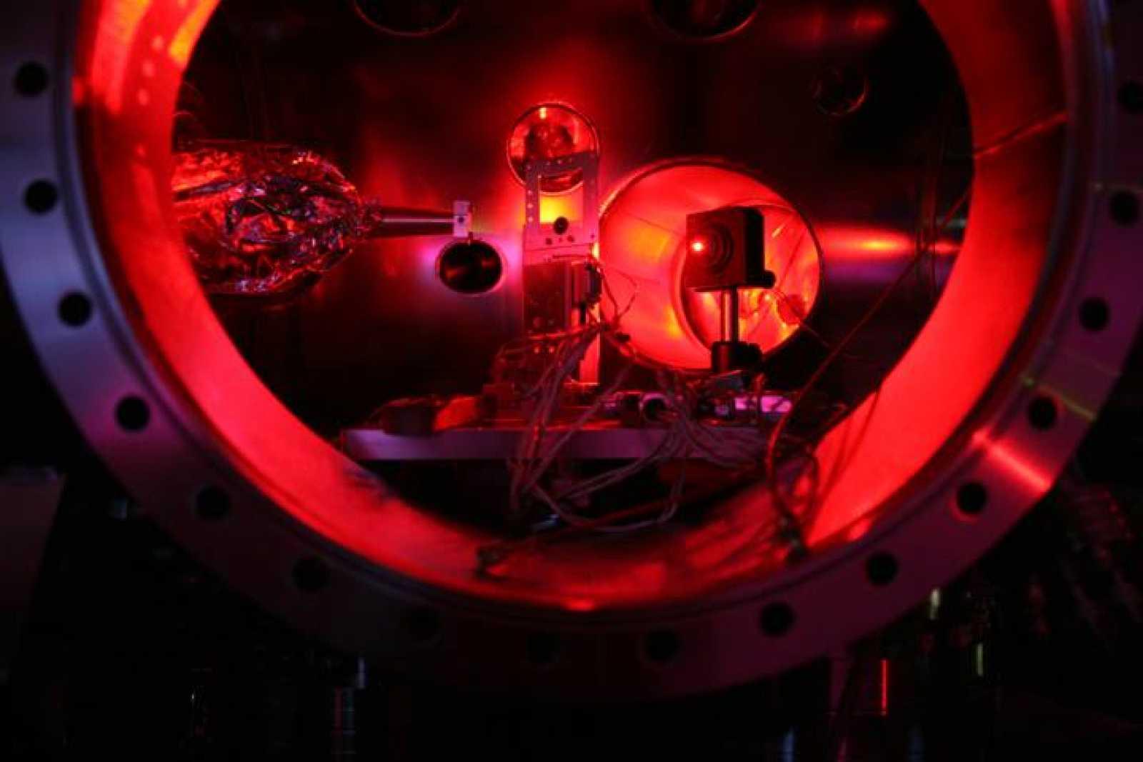 El interior del Linac Coherent Light Source, donde se han logrado calentar una lámina de metal a 2 millones de grados.