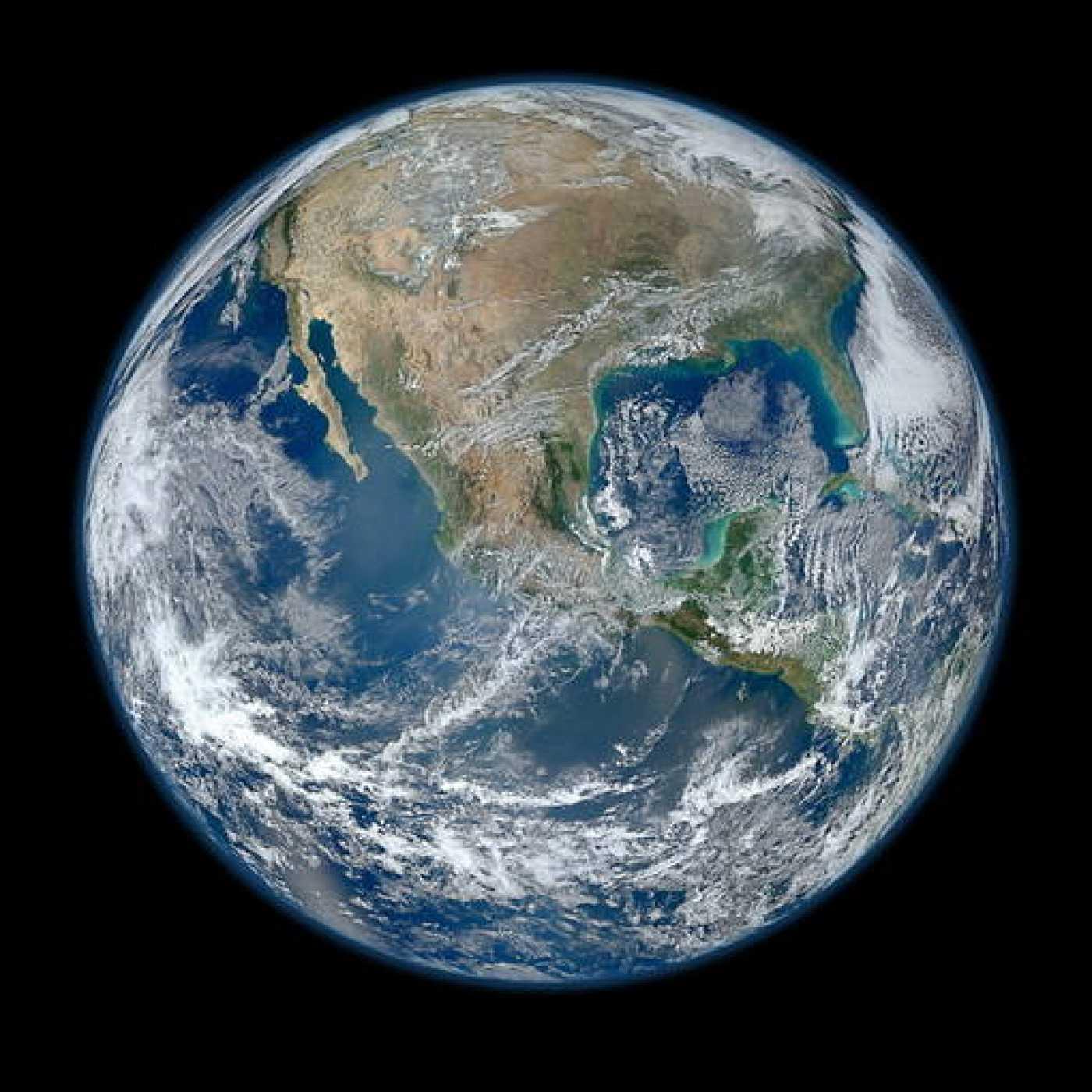 'Blue Marble 2012', así es la Tierra vista en alta resolución por un satélite de la NASA