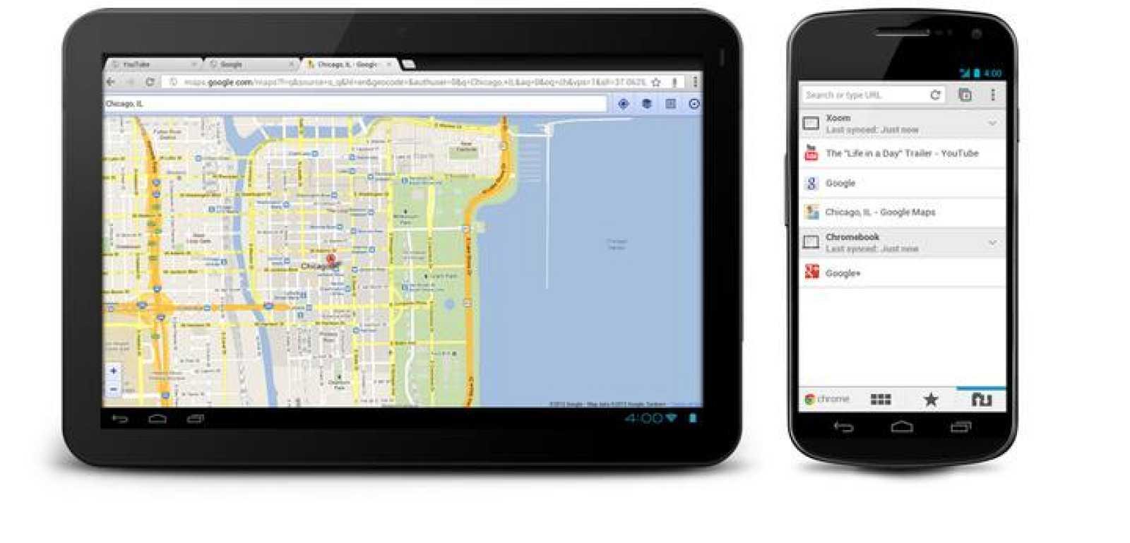 Google Chrome, el navegador web de la compañía, llega a los dispositivos móviles Android