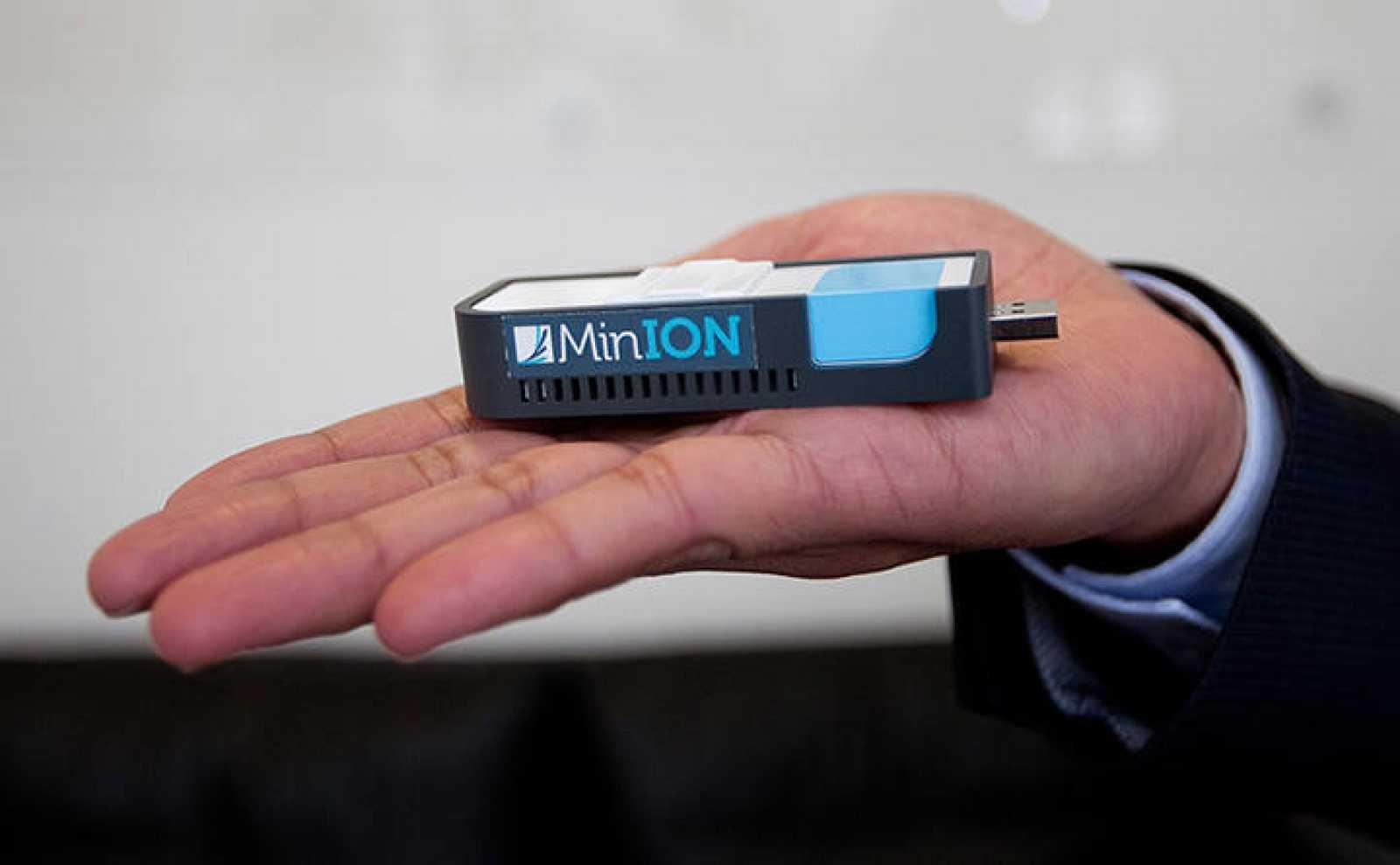 El secuenciador de ADN MiniON