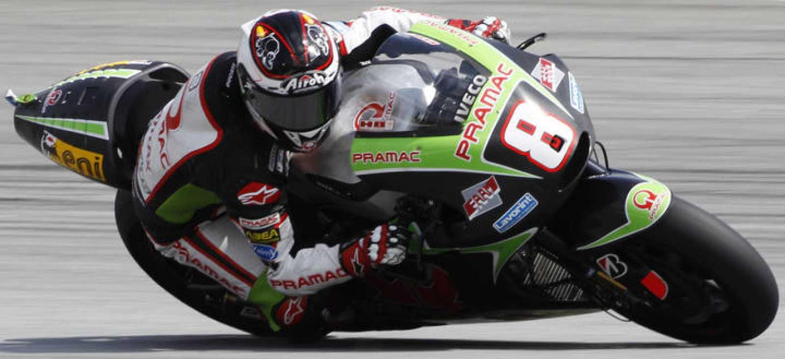 El piloto español de Ducati Héctor Barberá.
