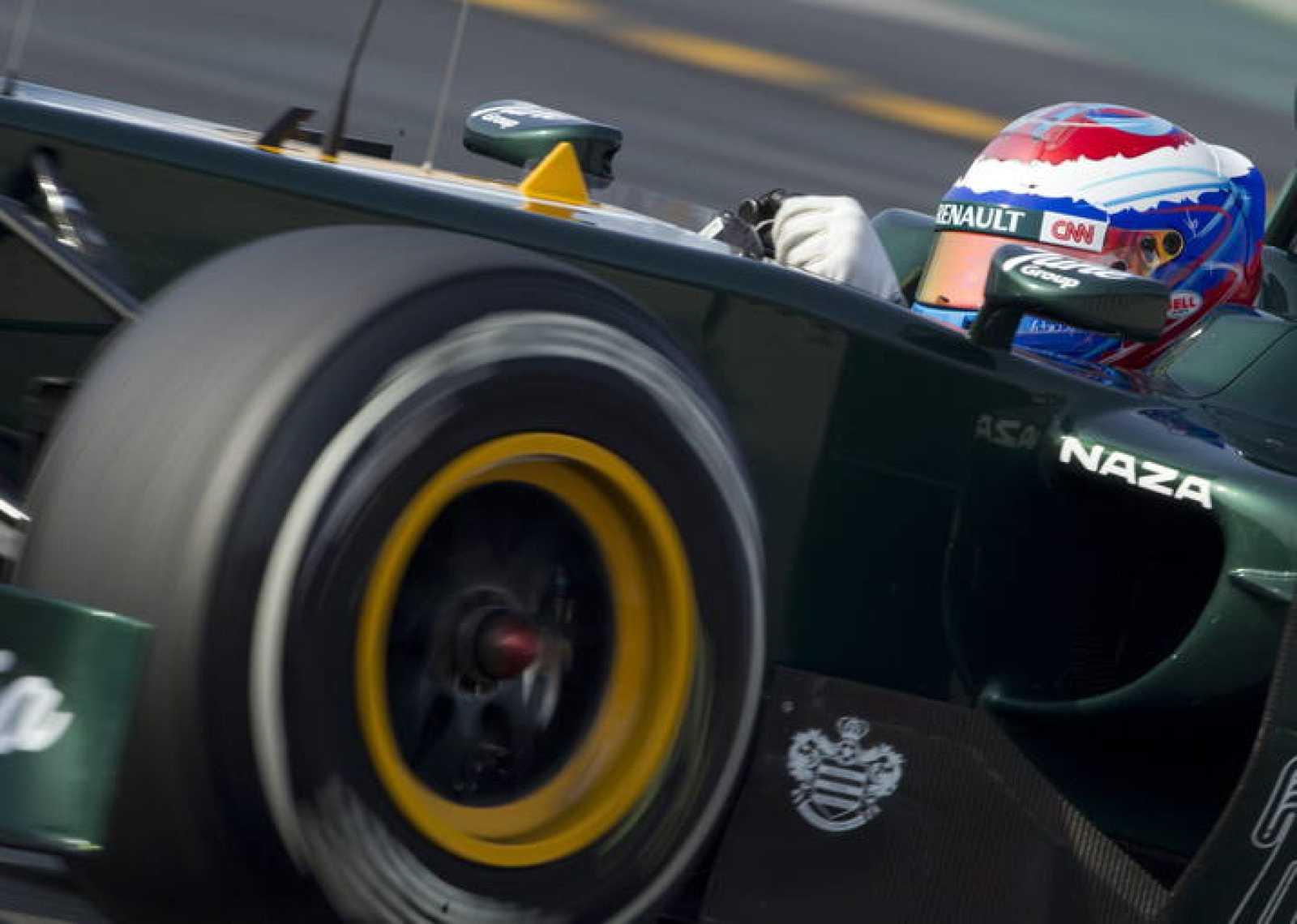 El piloto ruso Vitaly Petrov, de la escudería Caterham F1.