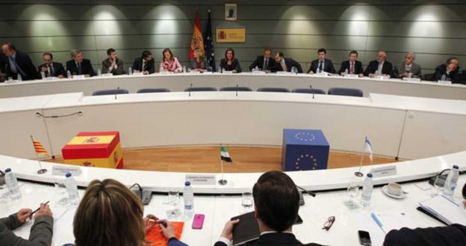 La ministra de Empleo y Seguridad Social, Fátima Báñez, presidió la Conferencia Sectorial de Empleo el pasado lunes