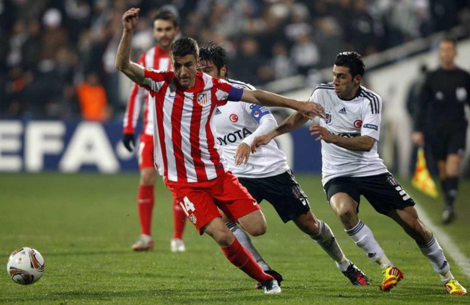 El Atlético de Madrid gana al Besiktas en Estambul