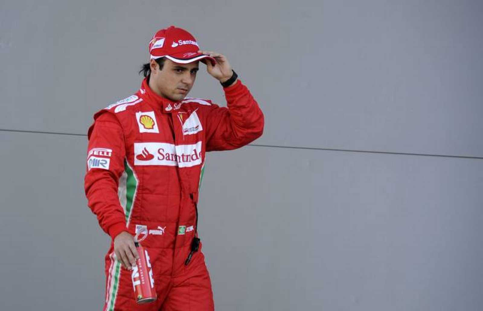 Felipe Massa, piloto de Ferrari