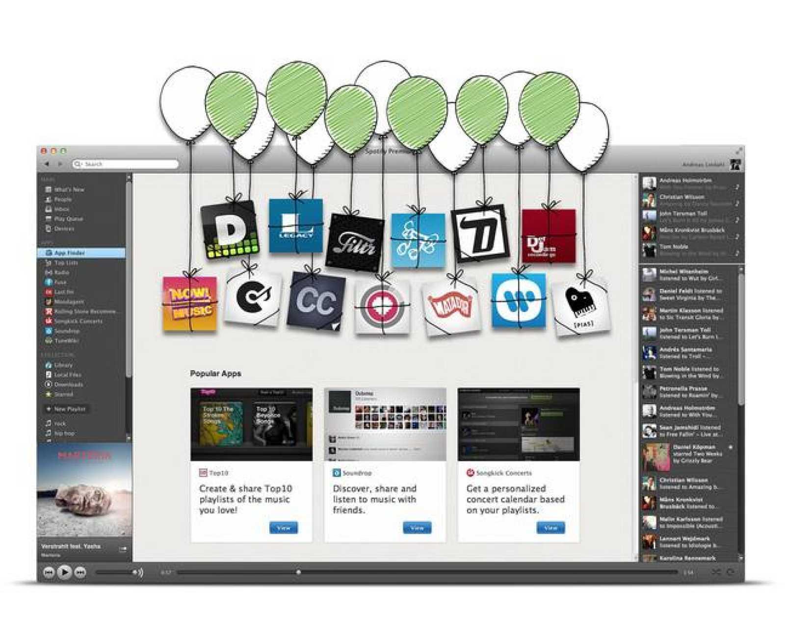Spotify ha lanzado un total de 13 nuevas aplicaciones