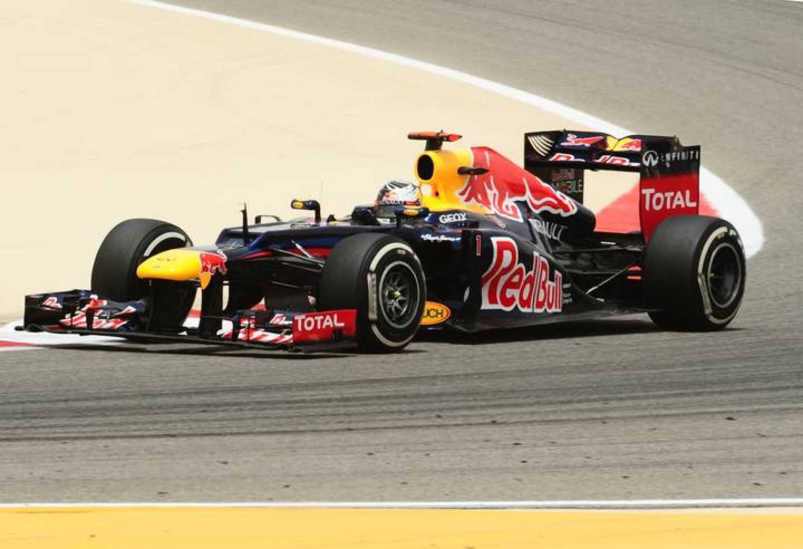Sebastian Vettel en Baréin