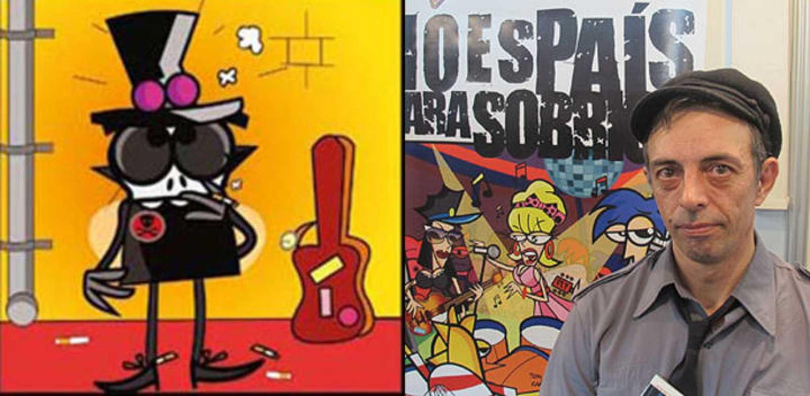 """Tony Marmota, bajista de """"La Unión"""" y líder del grupo The Flystones, en su versión """"mosqueada y humana"""""""
