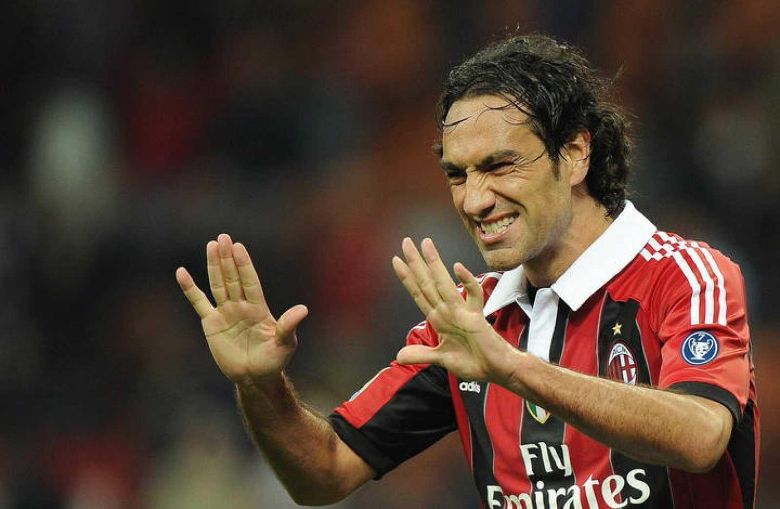 El jugador del Milan, Alessandro Nesta.