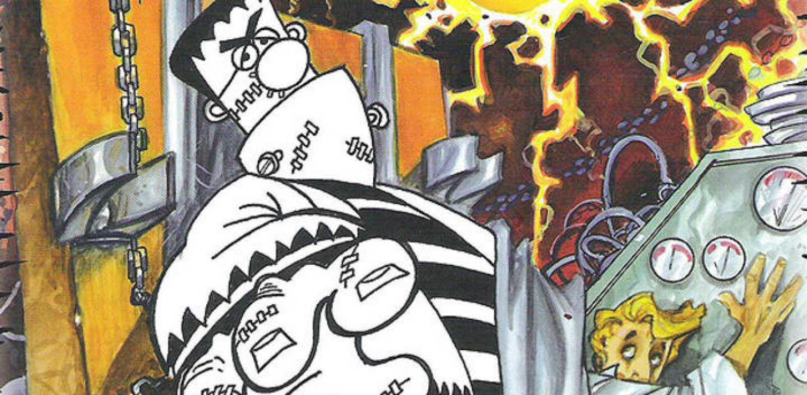 Tras el éxito de \'Drácula\', Azpiri y Forges adaptan \'Frankenstein ...