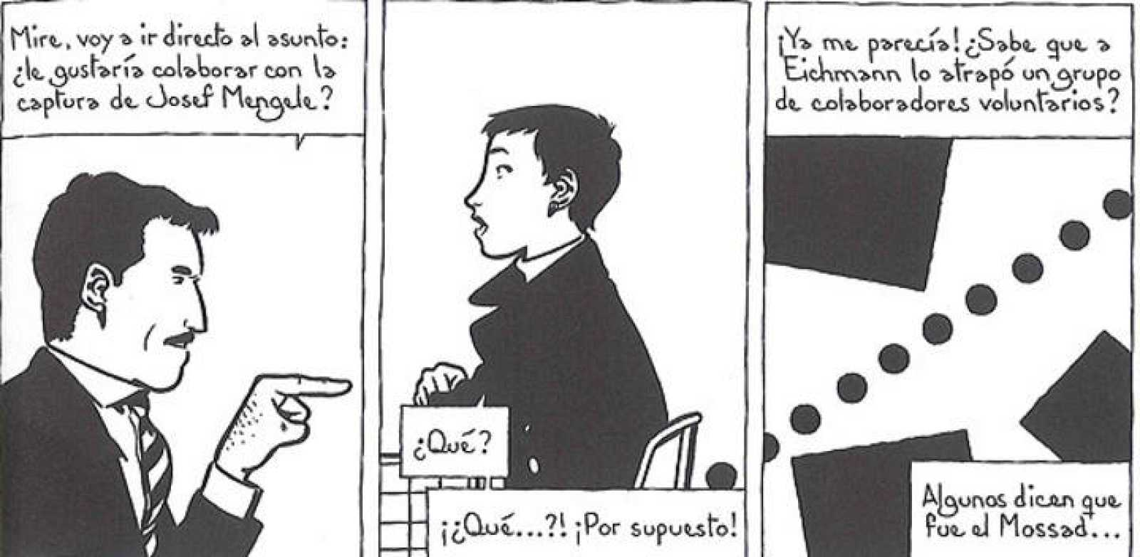Viñetas de 'Dora', de Ignacio Minaverry