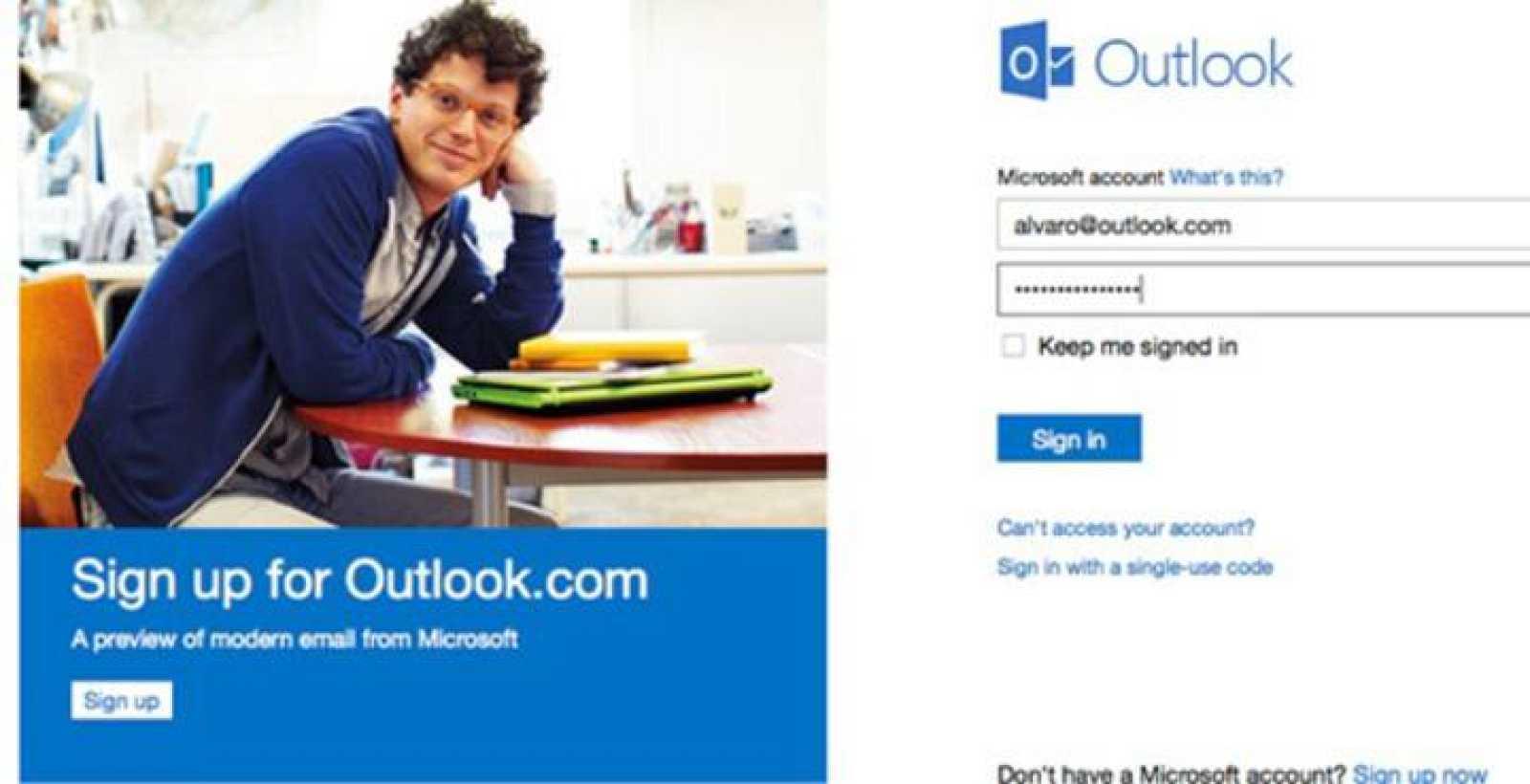 Microsoft dejará de usar el veterano Hotmail por Outlook.com, aunque el antiguo seguirá funcionando