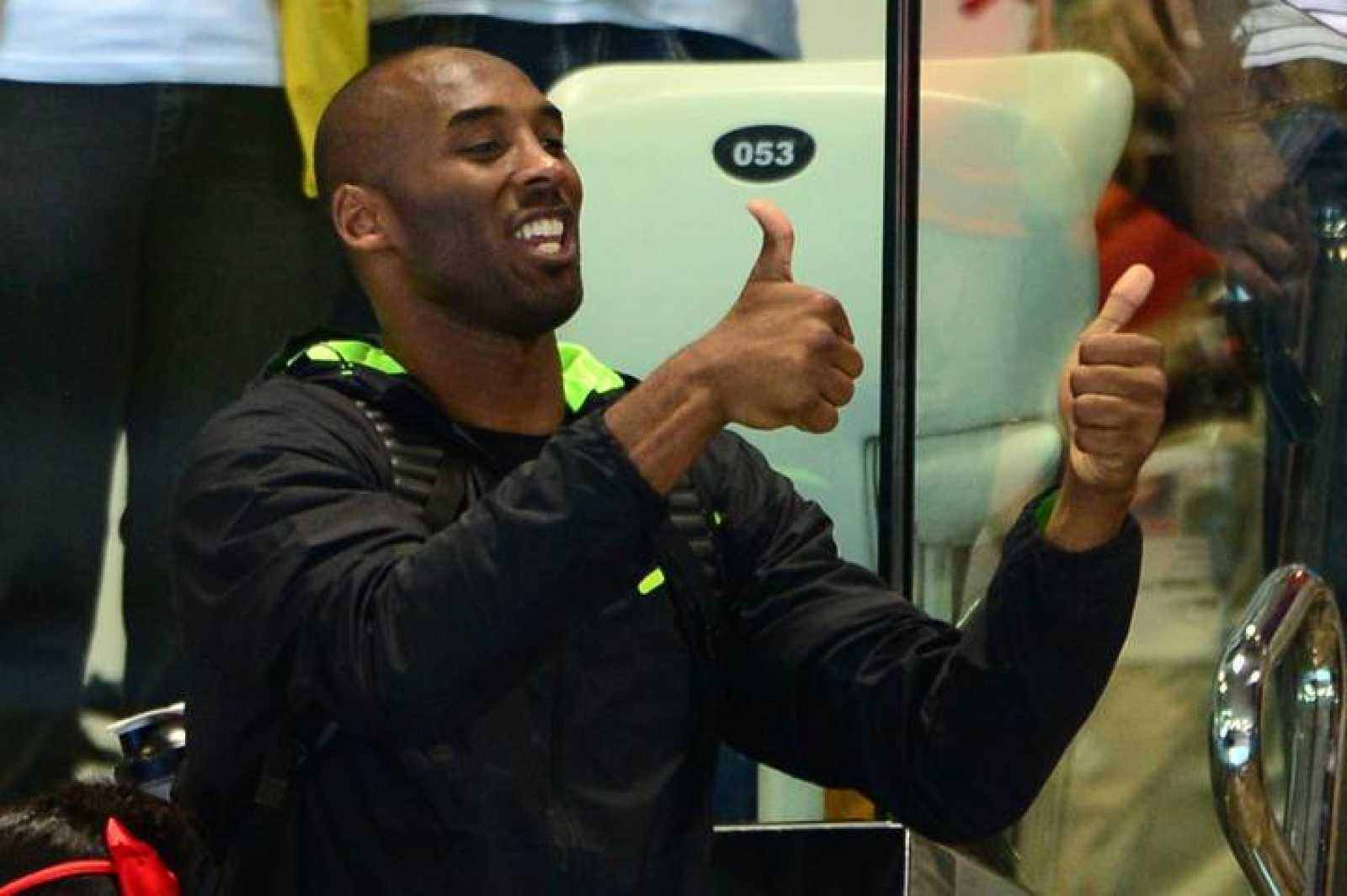 Imagen de archivo del jugador de los Lakers Kobe Bryant.