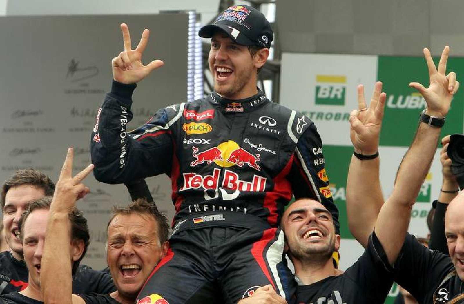 Sebastian Vettel, campeón mundial de fórmula 1 en 2012