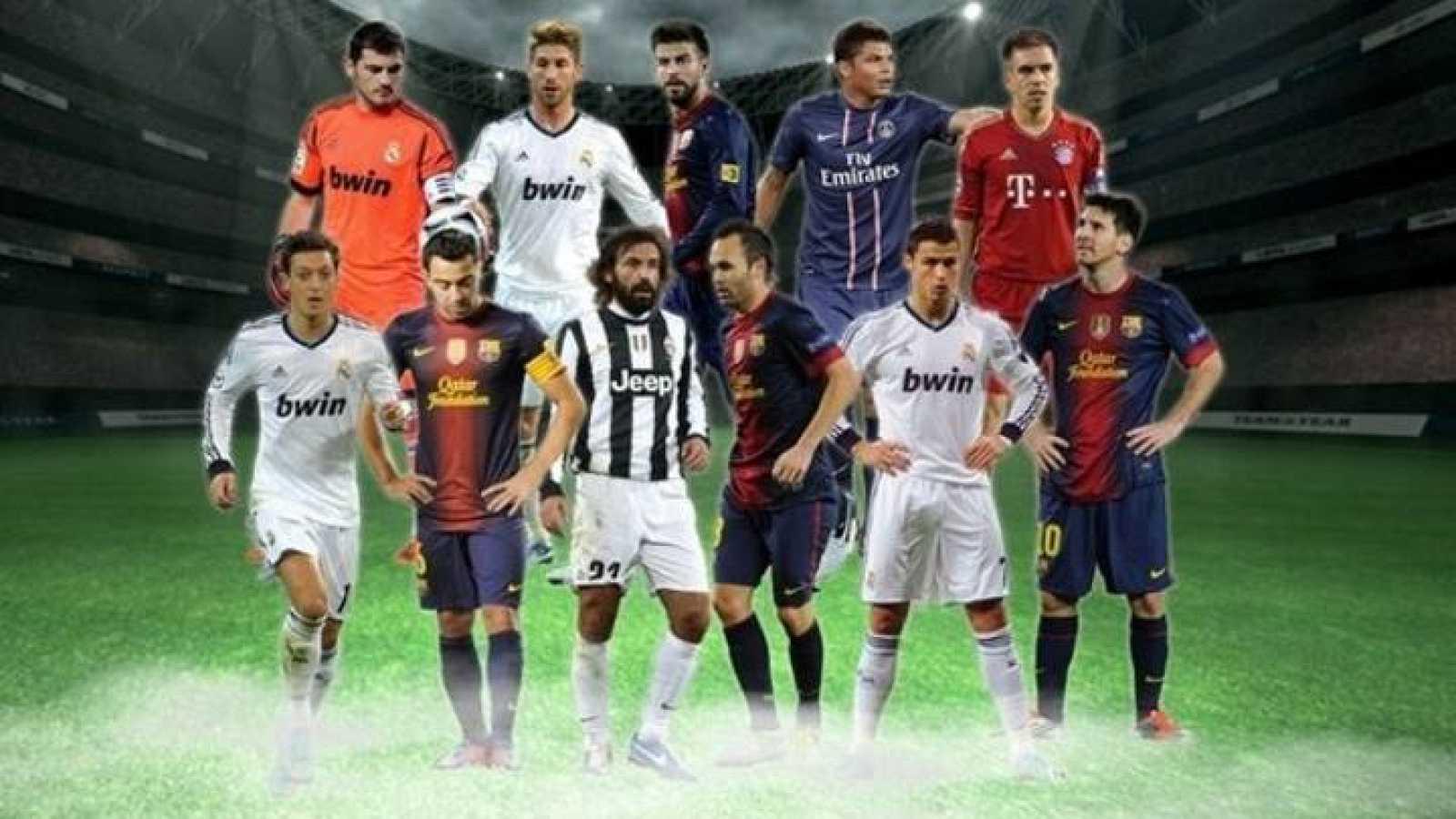 Futbol El Once Del Ano De La Uefa Tiene Cuatro Jugadores Del Barca