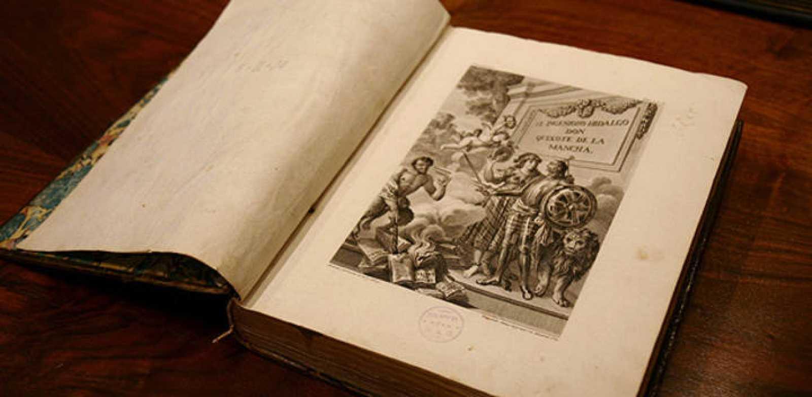 La edición ilustrada del Quijote de Ibarra, de 1780