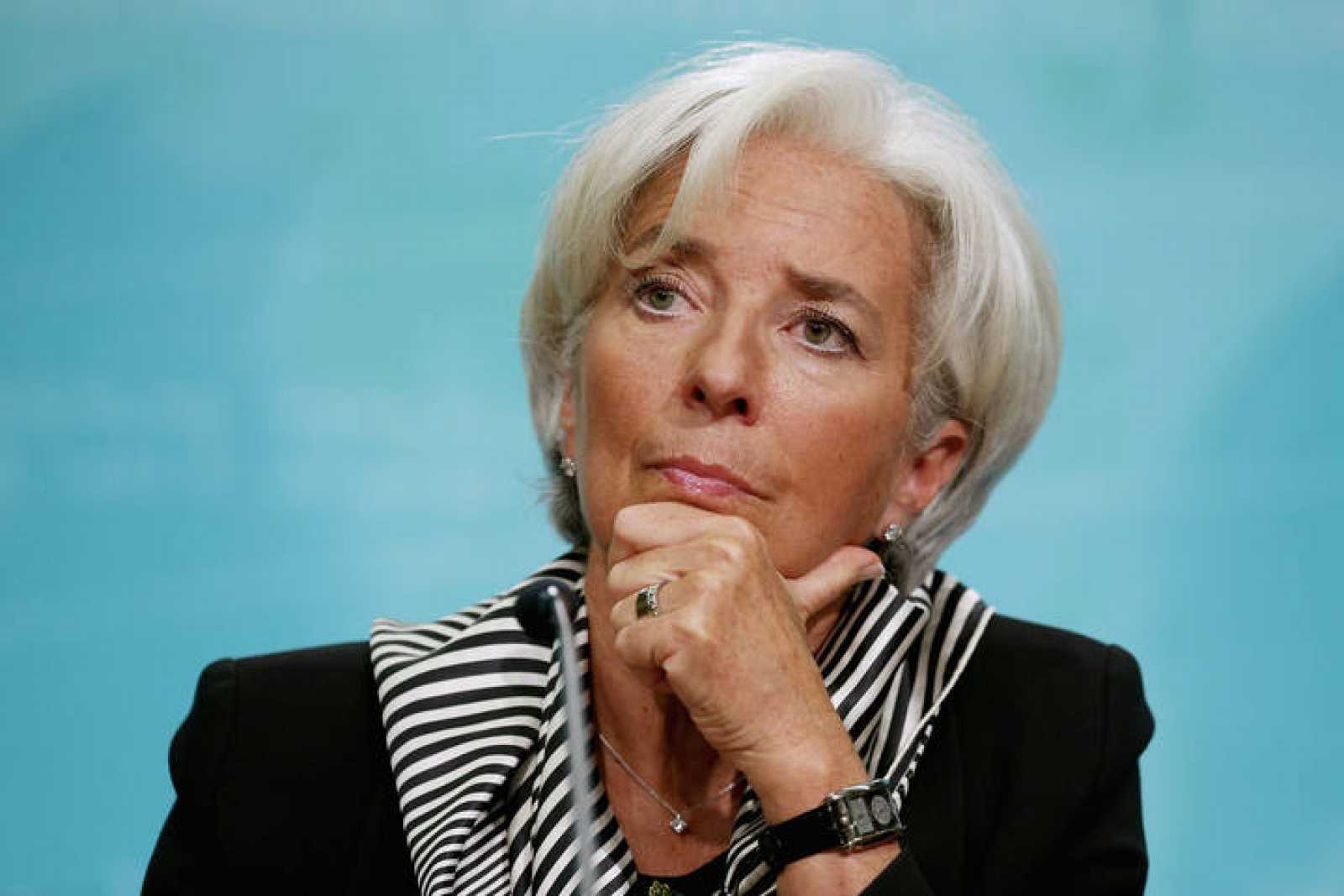 IMF Head Christine Lagarde Holds News Conf. On Economic Policy Priorities