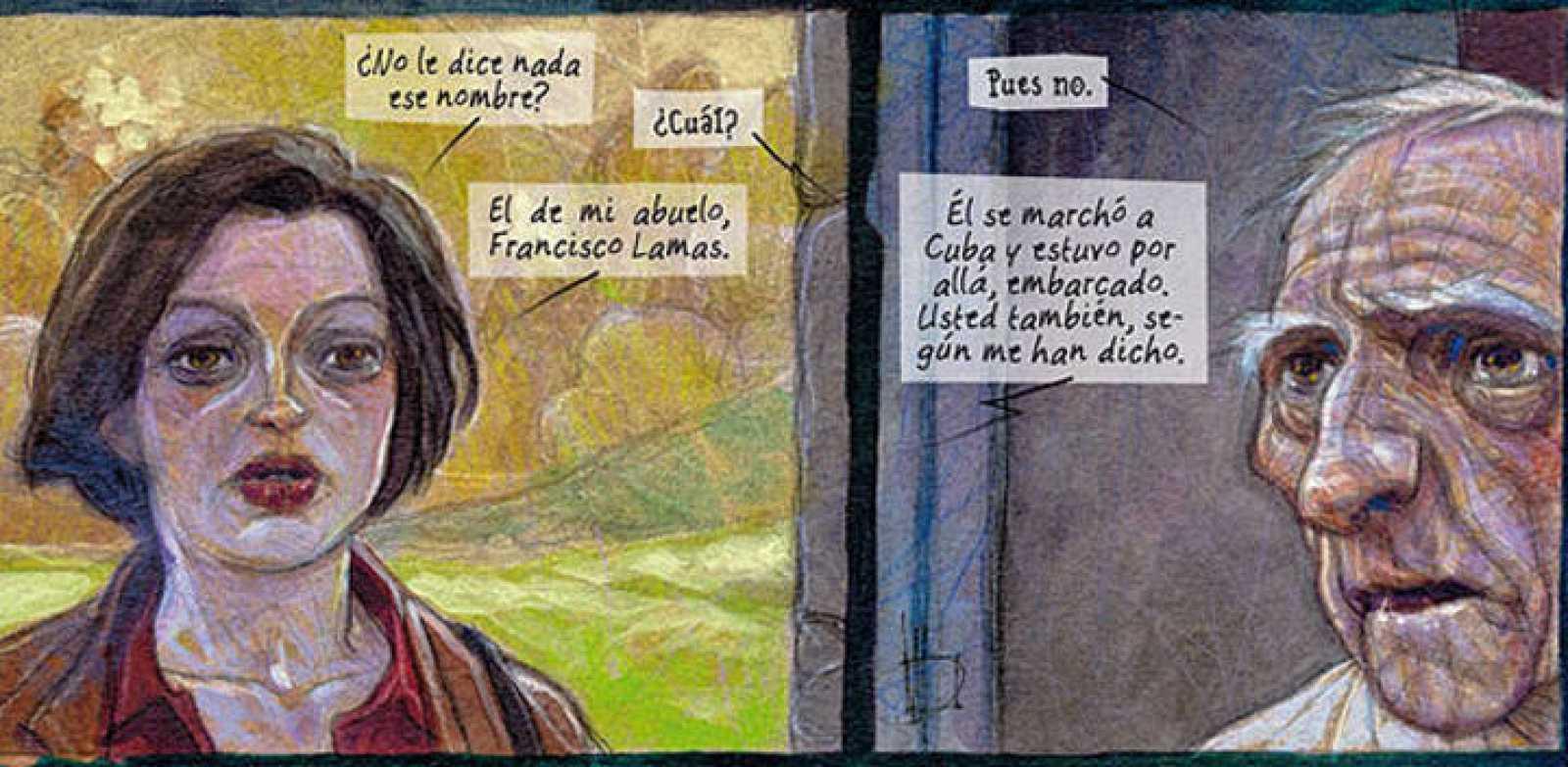 Viñetas de 'Ardalén', de Miguelanxo Prado
