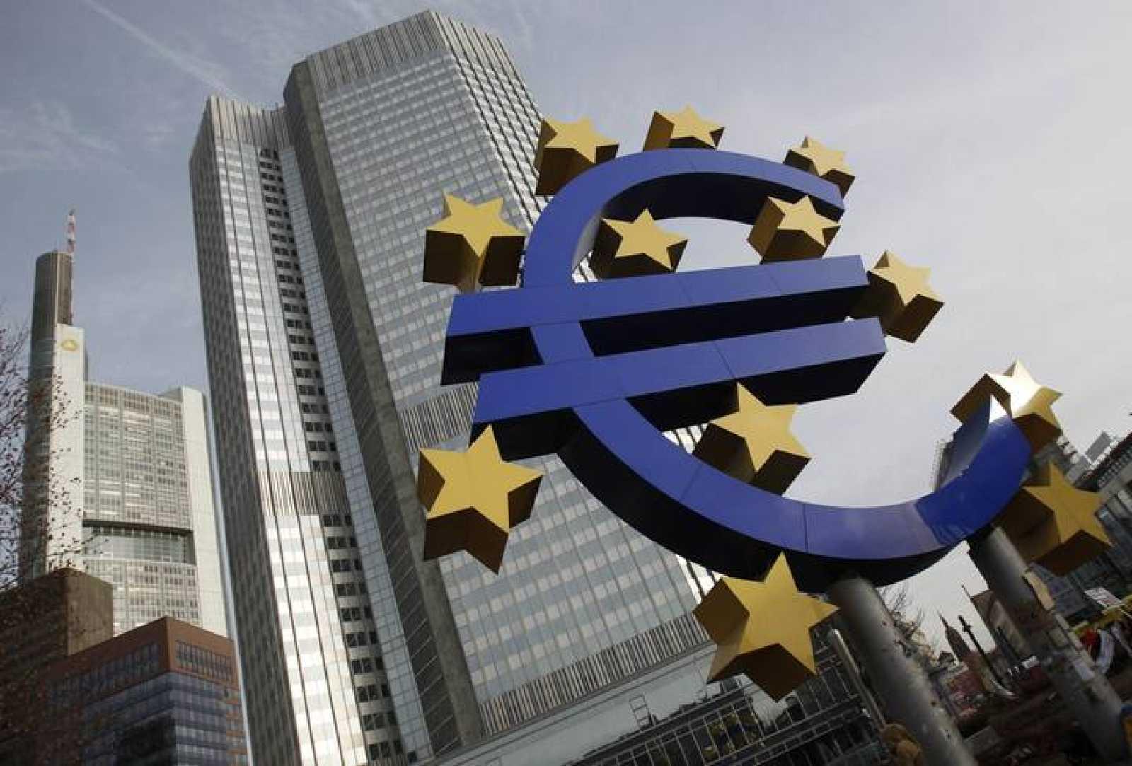 La sede del Banco Central Europeo en Fráncfort