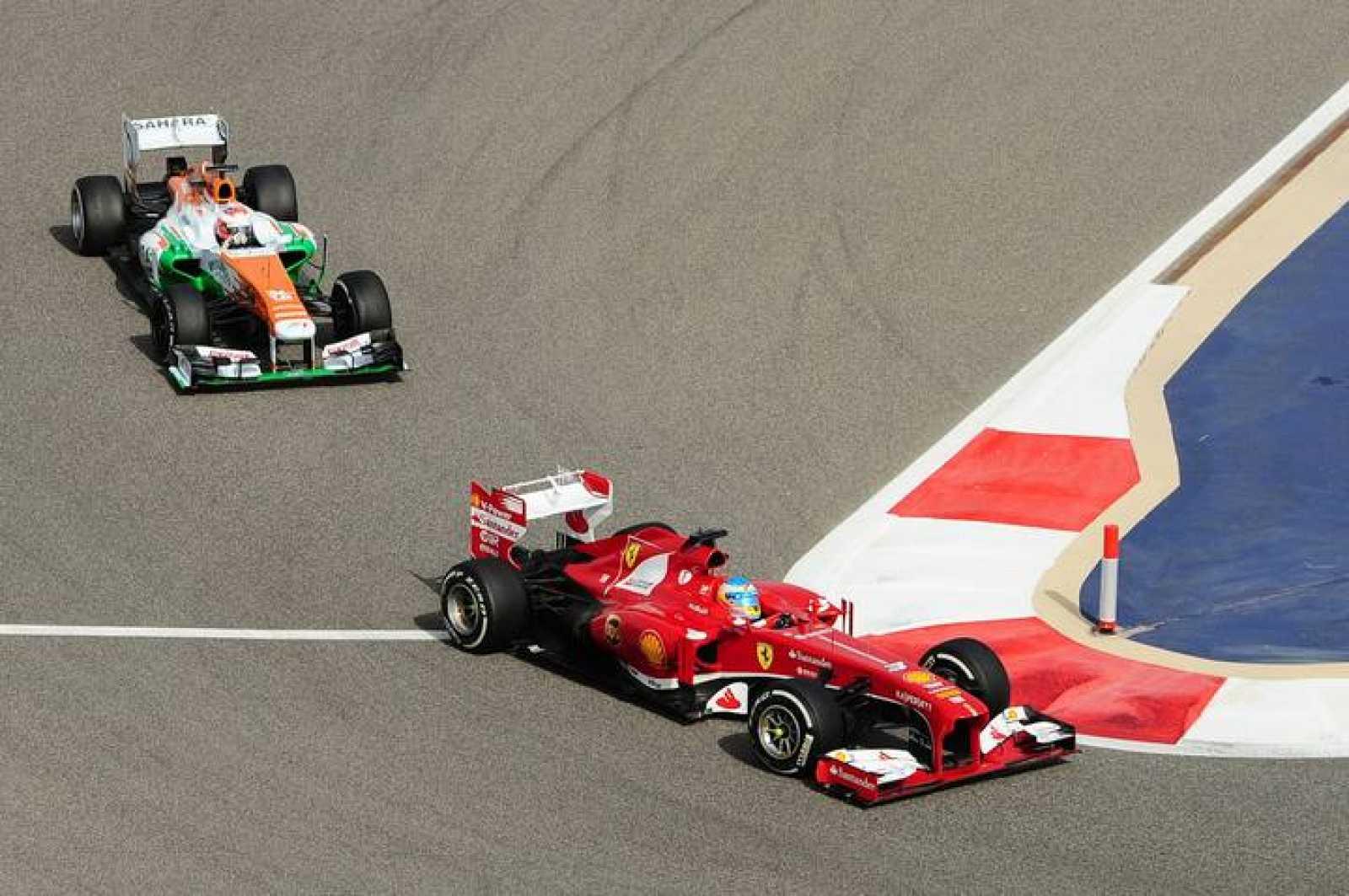 Alonso ha terminado octavo por los fallos mecánicos de su Ferrari