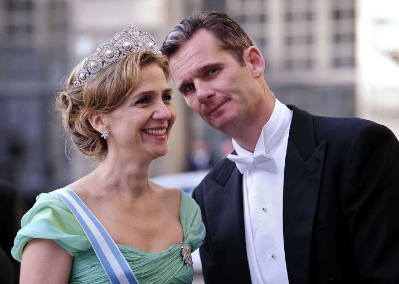 La infanta Cristina e Iñaki Urdangarin, duques de Palma, en una foto de archivo.