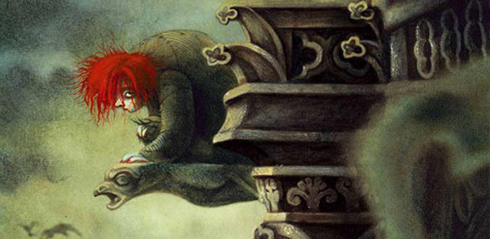 Fragmento de una ilustración de Benjamin Lacombe para 'Nuestra señora de París', de Victor Hugo
