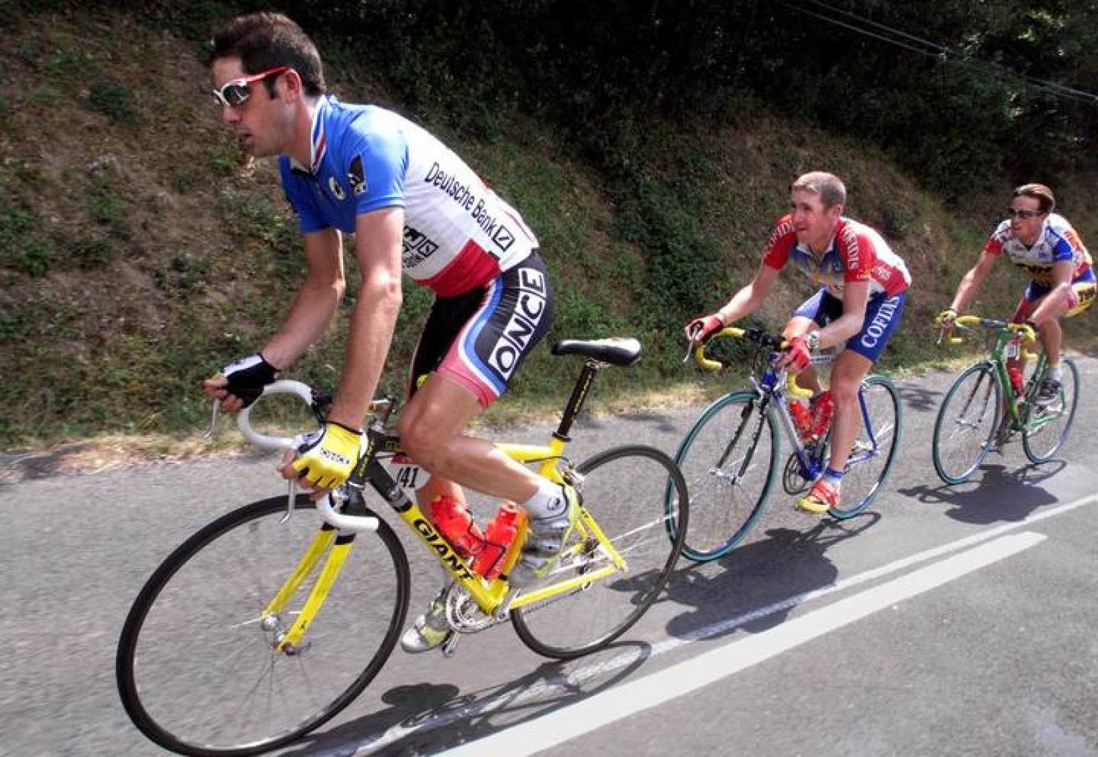 Laurent Jalabert, en el Tour de 1998.