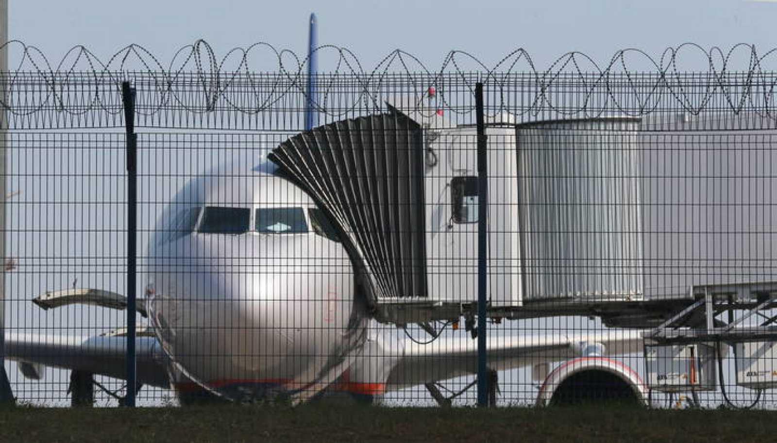 Imagen del aeropuerto moscovita de Sheremétievo, donde permanece Edward Snowden.