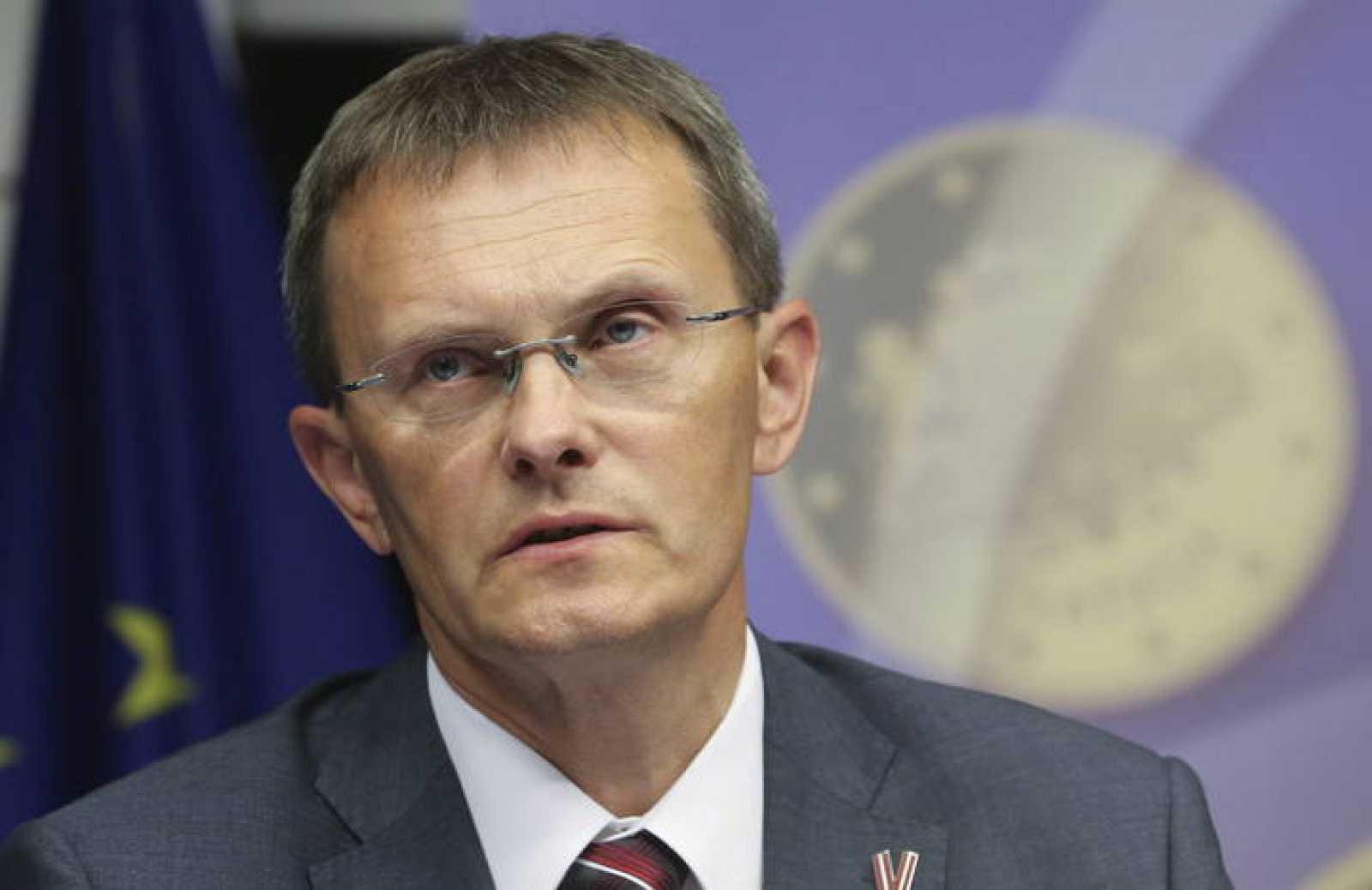 El ministro de Finanzas letón, Andris Vilks