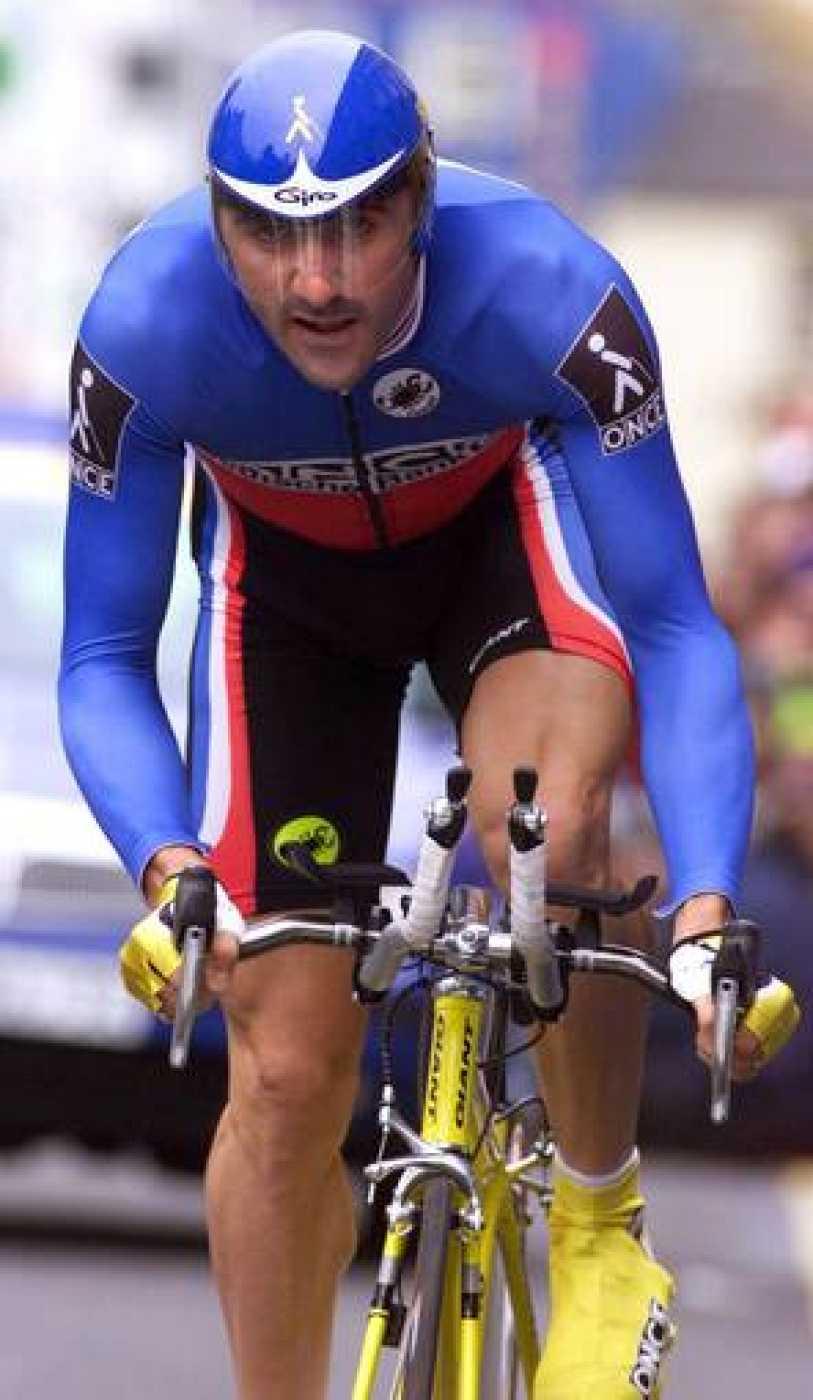 Laurent Jalabert, en su época de ciclista