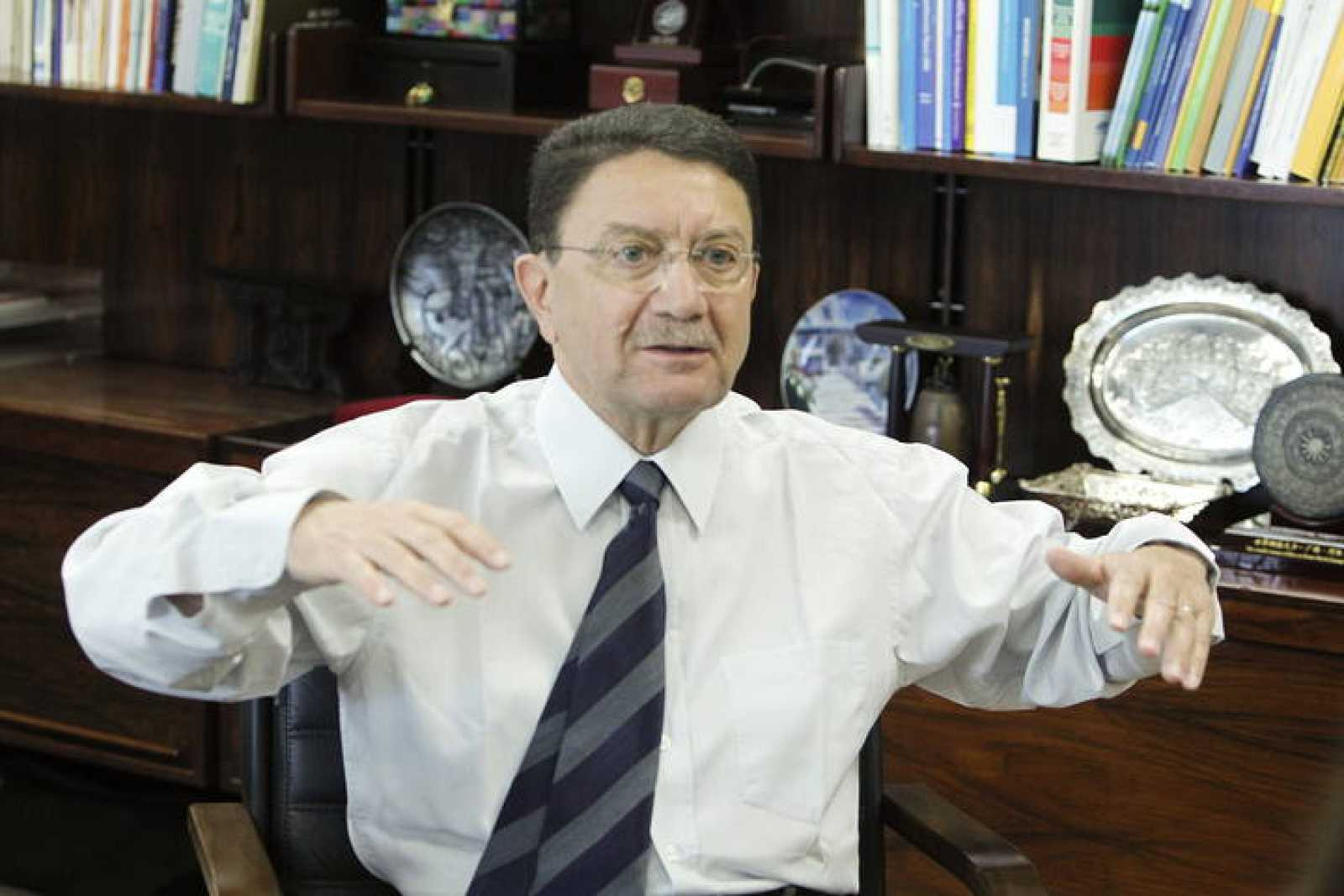El secretario general de la Organización Mundial del Turismo, Taleb Rifai