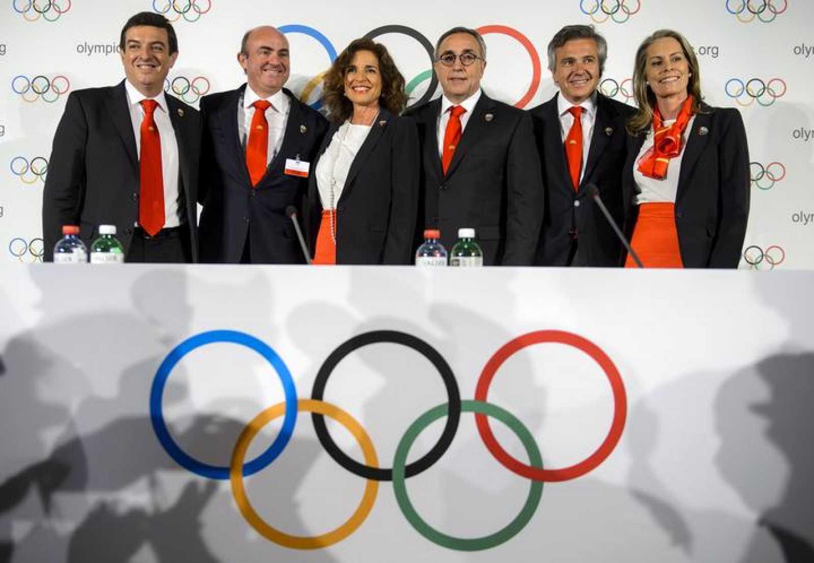 La delegación de Madrid 2020, en una foto de archivo.