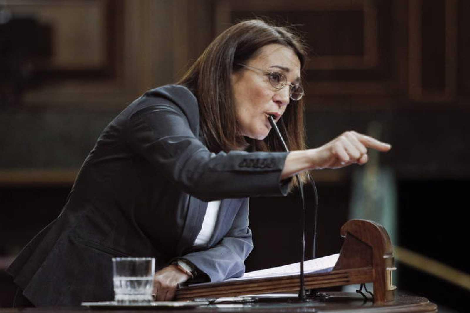 La portavoz del grupo socialista, Soraya Rodríguez, en una imagen de archivo.