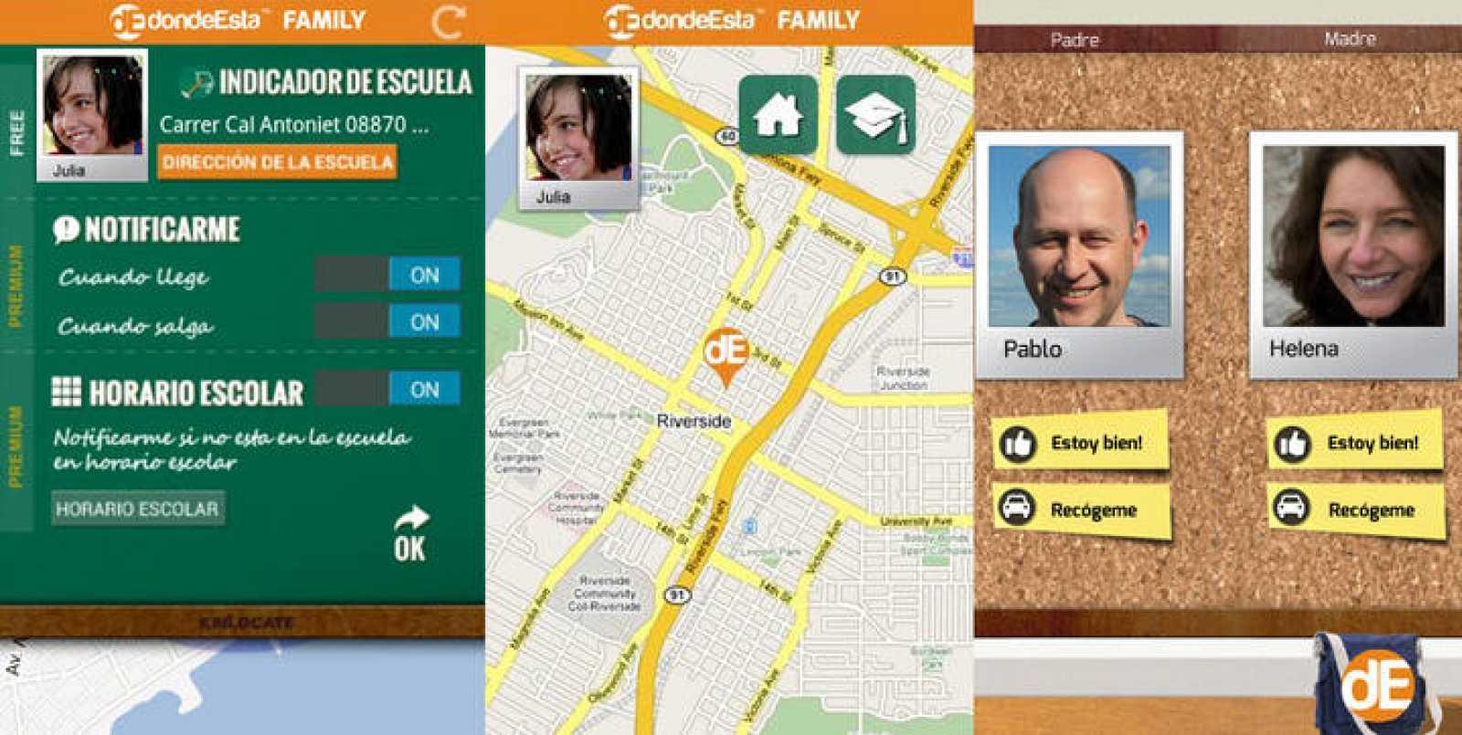 Una aplicación para tener localizados a los miembros de la familia ...