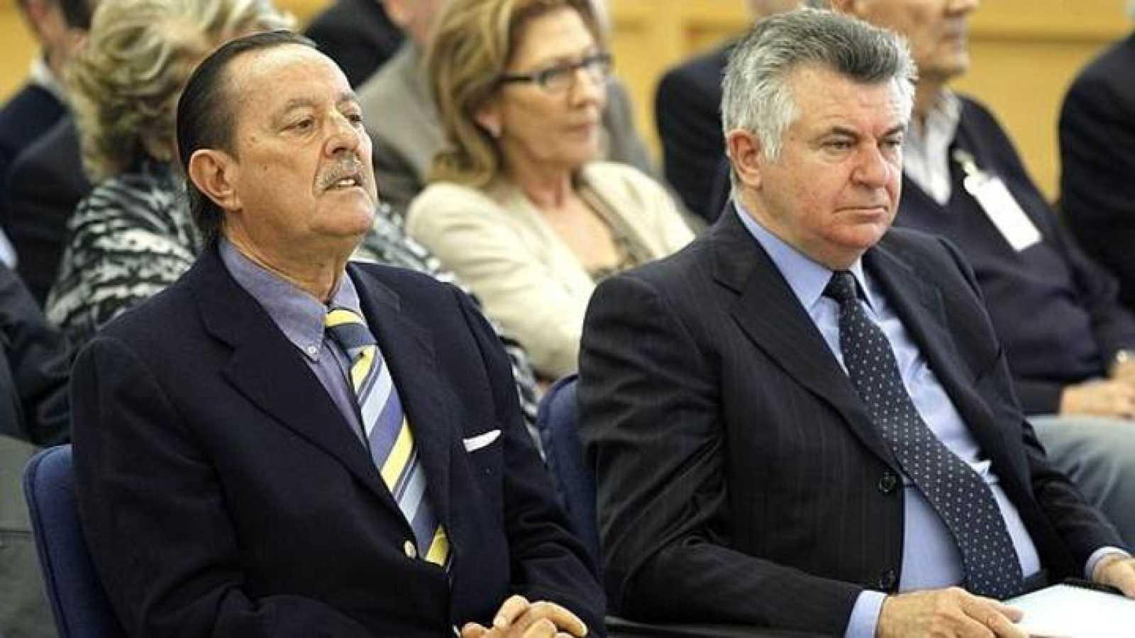 Julián Muñoz, exalcalde de Marbella, y Juan Antonio Roca, exconcejal de Urbanismo.